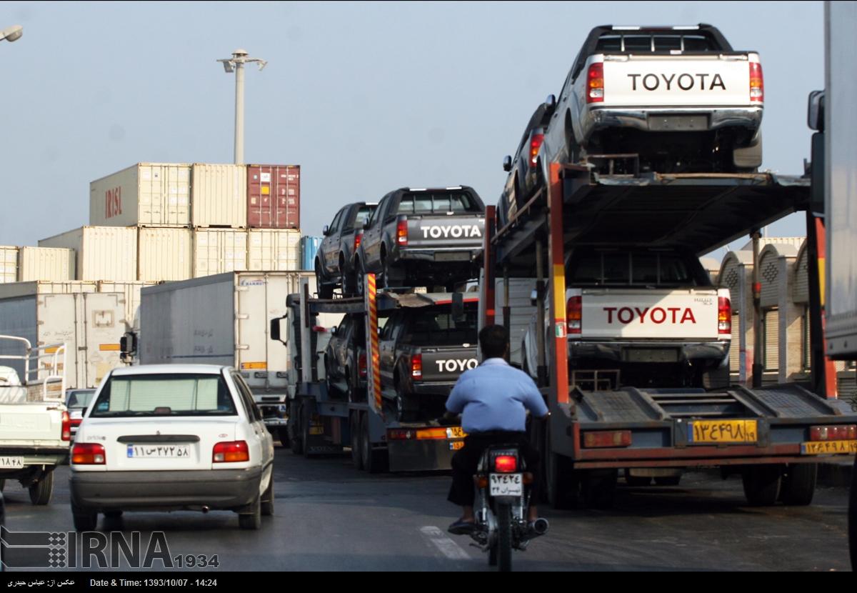 آب پاکی دولت روی دست واردکنندگان خودرو