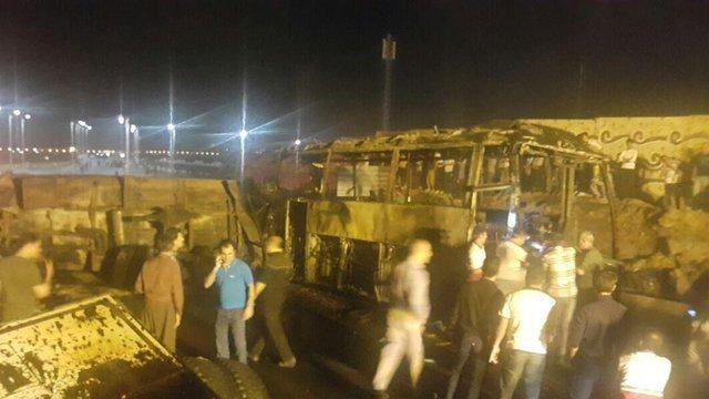 مصاحبه با بازمانده حادثه اتوبوس سنندج + فیلم