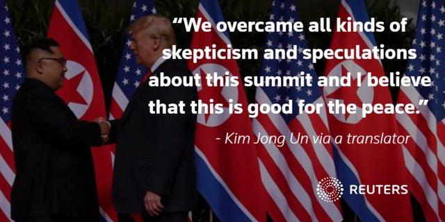 دیدار تاریخی ترامپ و کیم جونگ اون