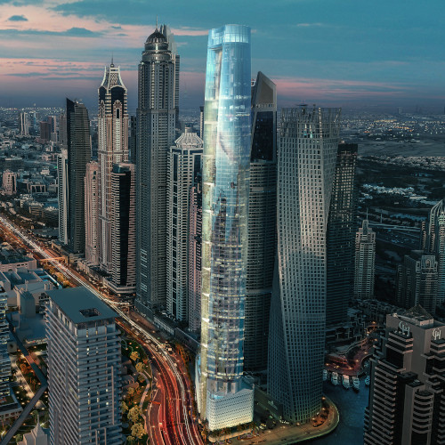 بلندترین هتل جهان در دبی