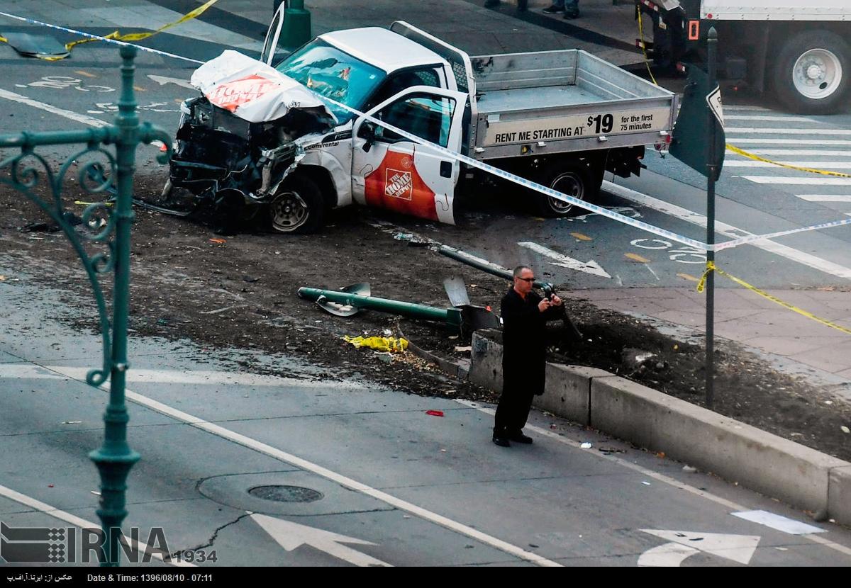 حمله با خودرو به عابران پیاده در نیویورک