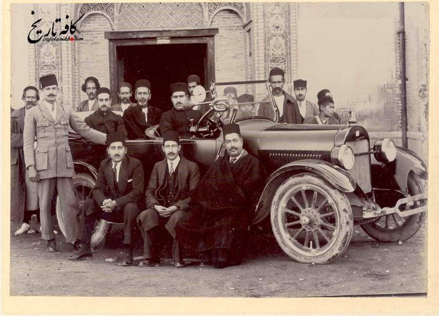 اولین خودرو وارد شده به ایران
