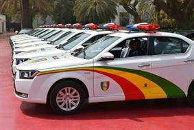 ماشین پلیس سنگال