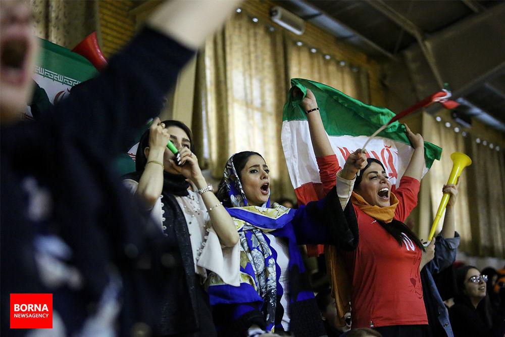 فوتسال بانوان ایران و روسیه