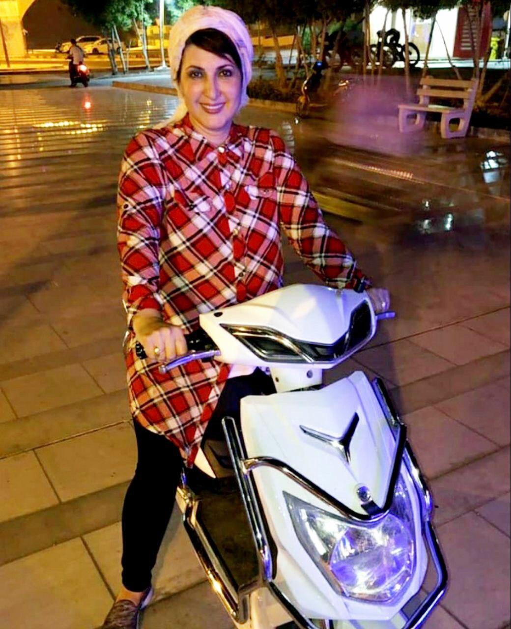 موتور سواری فاطمه گودرزی
