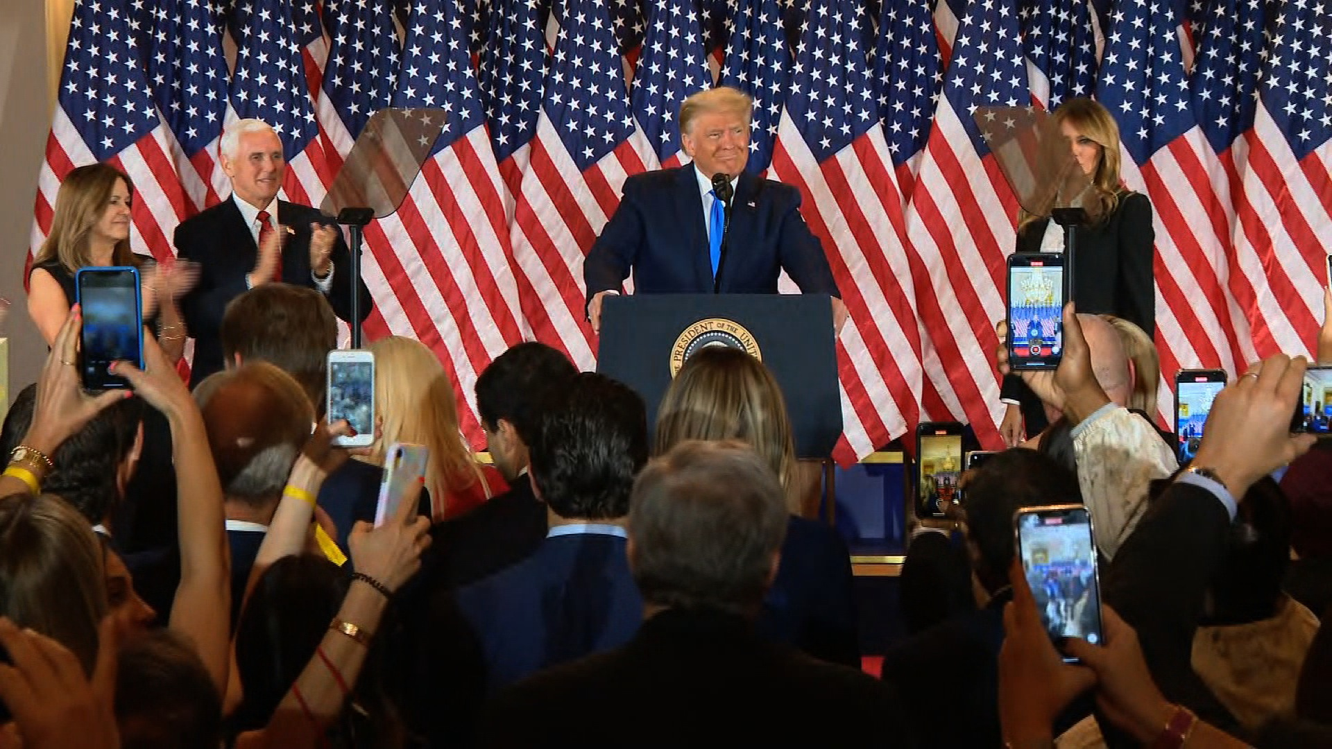 سخنرانی پیروزی ترامپ از کاخ سفید؟