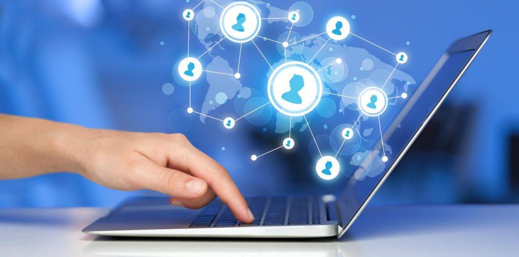 آنلاین فضای مجازی  کسب و کار