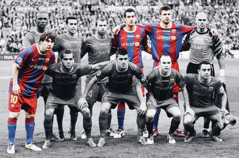 نسل طلایی بارسلونا