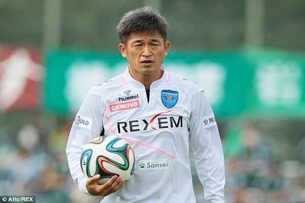 کازو یوشی میورا پیرترین فوتبالیست جهان
