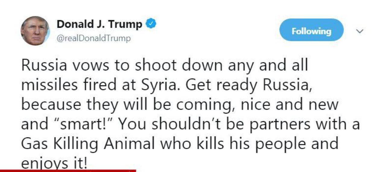 توییت ترامپ