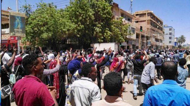 اعتراضها در سودان