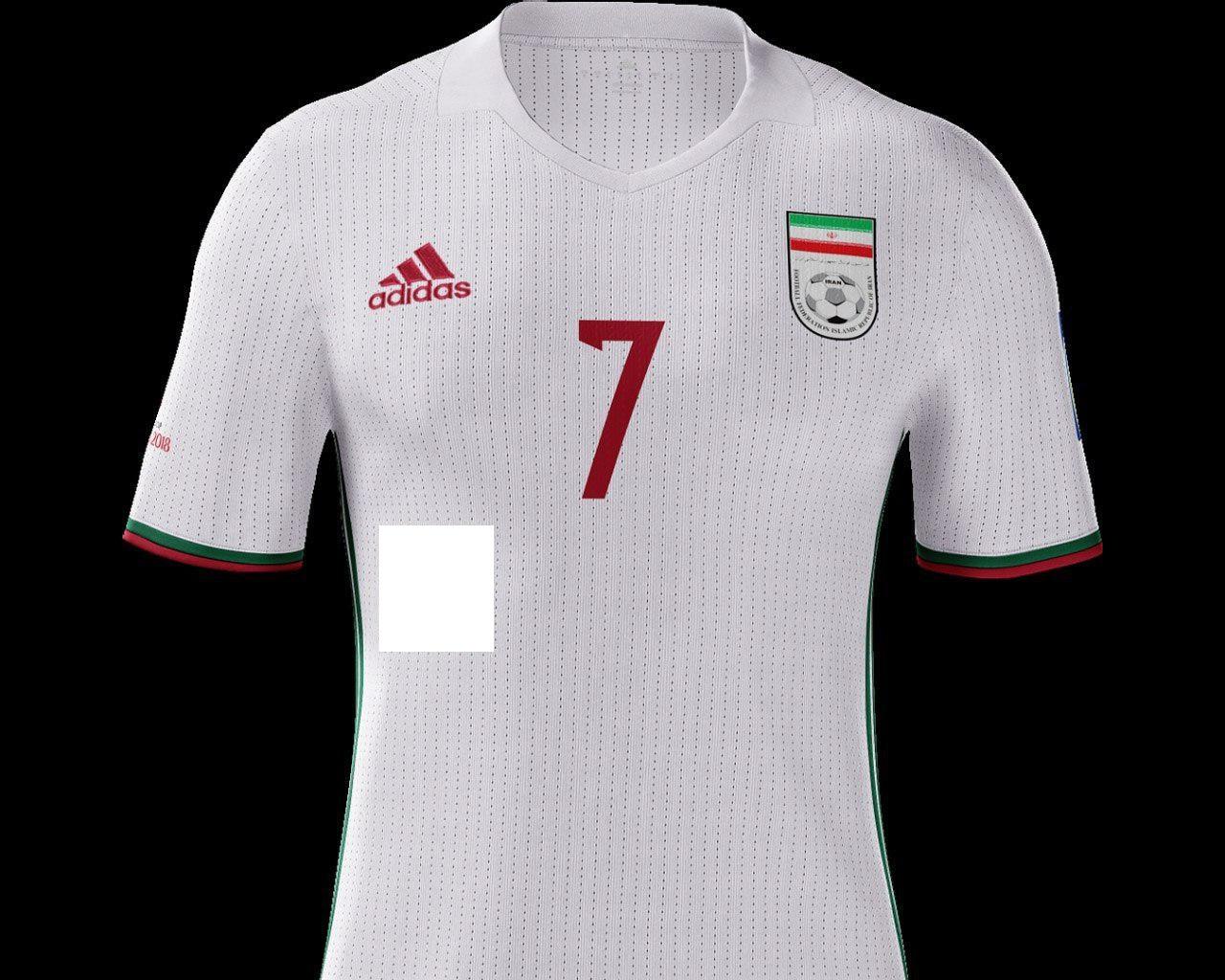 طرح لباس تیم ملی فوتبال ایران برای جام جهانی