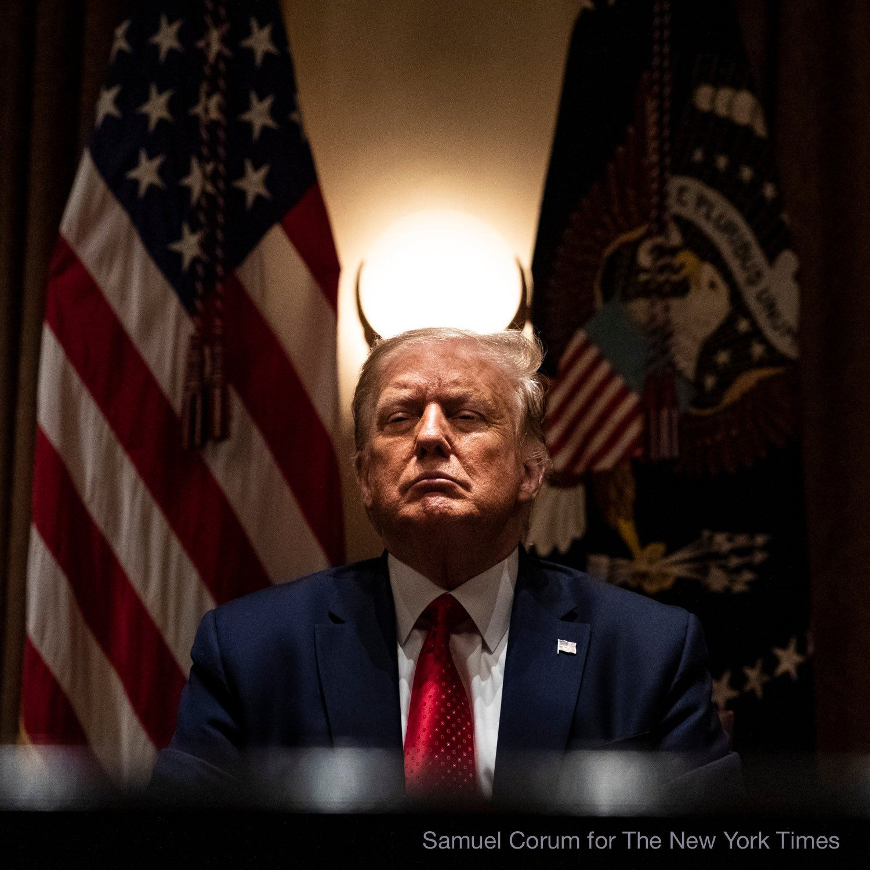 شاخهای شیطانی ترامپ