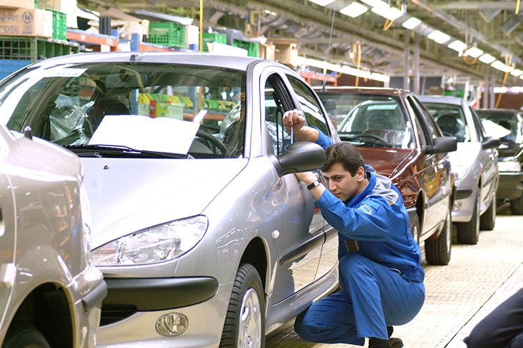 تولید خودرو پژو 206
