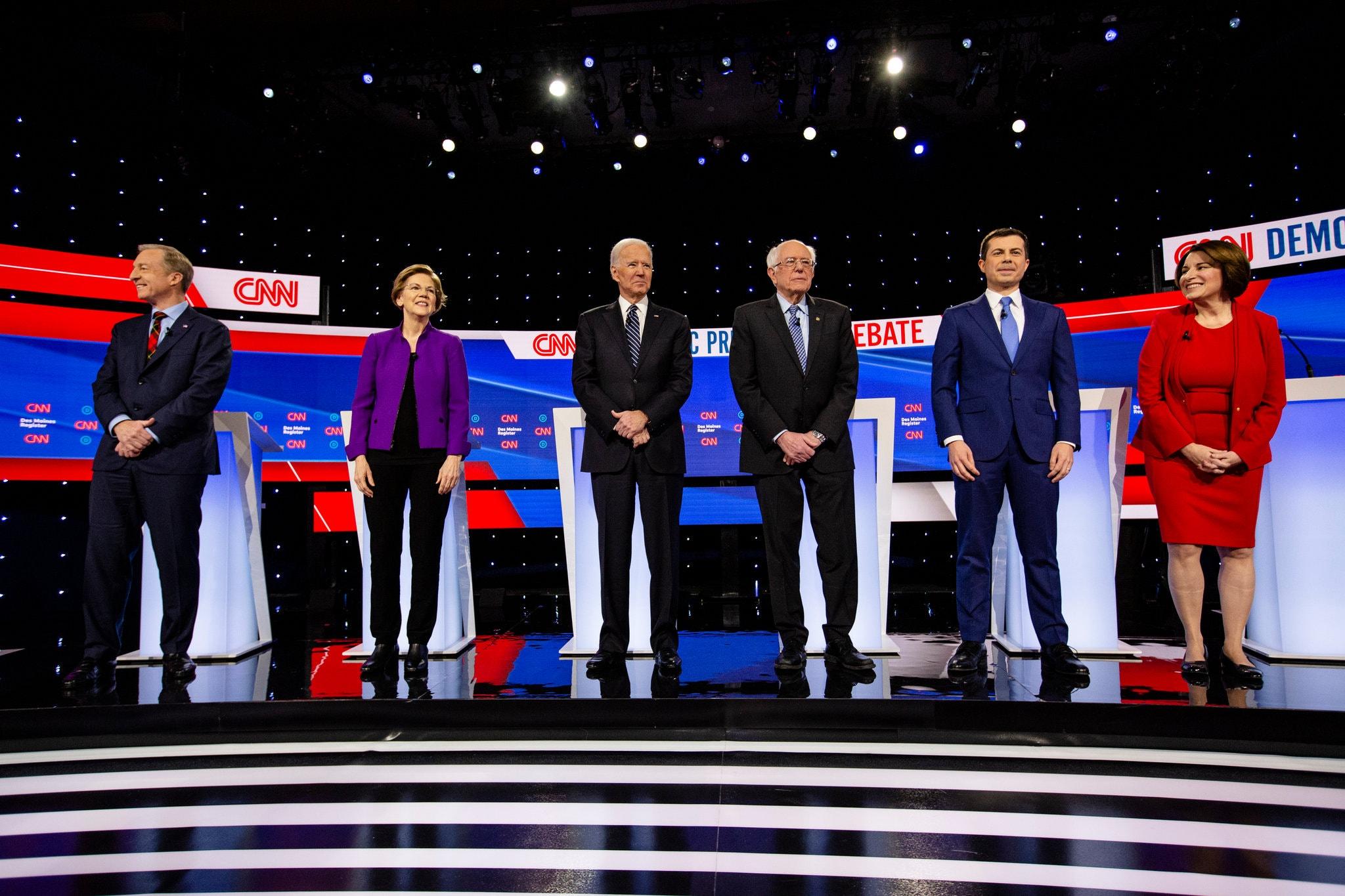 هفتمین مناظره نامزدهای دموکرات