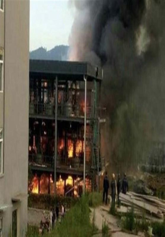 19 کشته در انفجار کارخانه مواد شیمیایی در چین