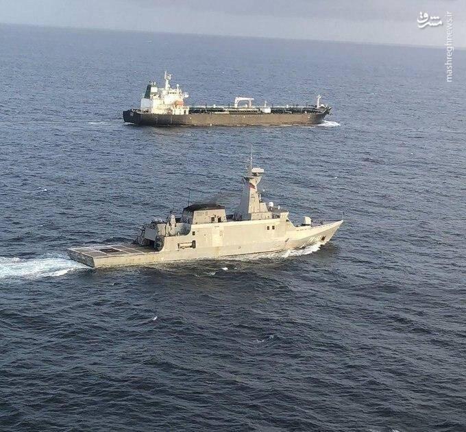 تصاویری از دو غول نفتی ایران که با اسکورت به سواحل ونزوئلا رسیدند / فارست و فورچون