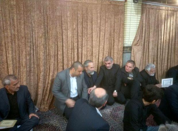 مراسم ترحیم داوود احمدی نژاد