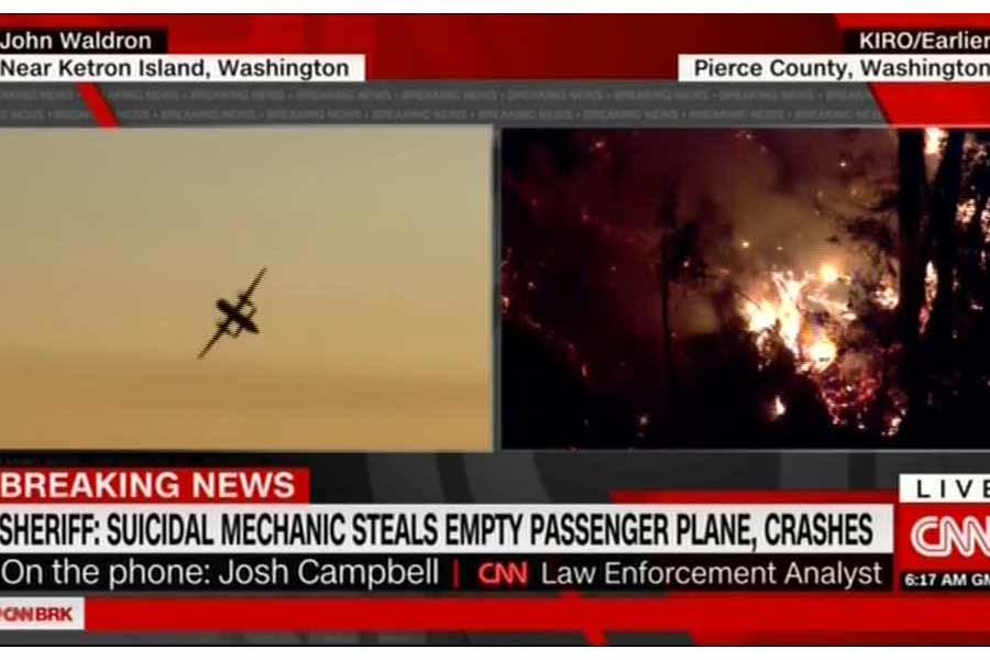 معمای هواپیمای ربوده شده آمریکایی