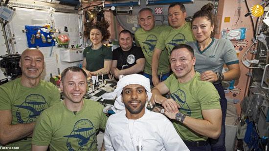 فضا نورد اماراتی