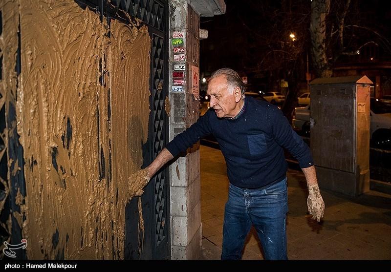 احمد نجفی درب خانه سینما را گل گرفت!