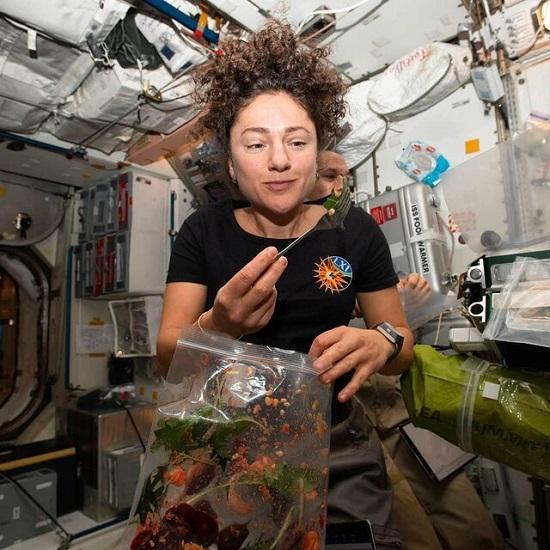 کشاورزی در ایستگاه فضایی