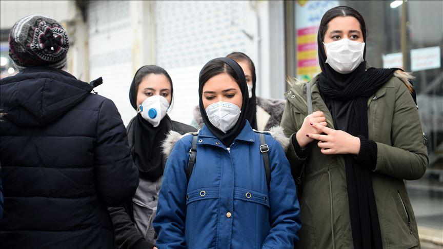 کرونا آلودگی هوا ماسک تنفسی