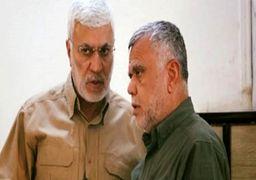 لحظه وداع هادی العامری با ابومهدی المهندس +فیلم