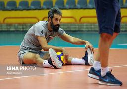 گزارش تصویری آمادهسازی تیم والیبال ایران