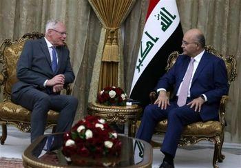 مذاکره نماینده آمریکا با رئیس جمهور عراق