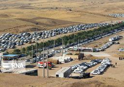 زائران اربعین حسینی از مرز خسروی به ایران بازگردند