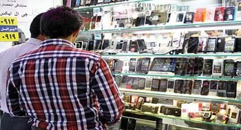 افزایش قیمت موبایل در بازار ایران