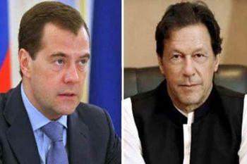نخست وزیران روسیه و پاکستان دیدار کردند
