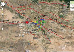 کانون زلزله تهران دقیقا کجا بود؟