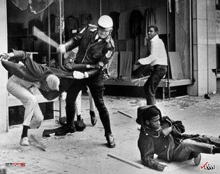 28 مارس 1968 : ضرب و شتم سیاهپوستان توسط پلیس آمریکا