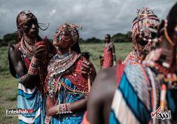 مسابقه ورزشی عجیب قبیله ماسایی در کنیا