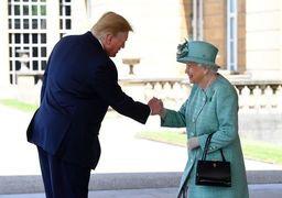 ترامپ: در دیدارم با ملکه الیزابت خیلی به او خوش گذشت