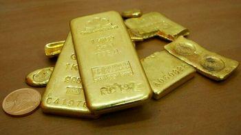 قیمت طلا به پایین ترین حد خود در سه هفته اخیر رسید