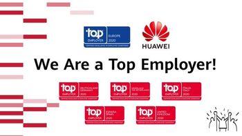 با اعلام رسمی Top Employers Institute:  هوآوی کارفرمای برتر اروپا در ۲۰۲۰ شد