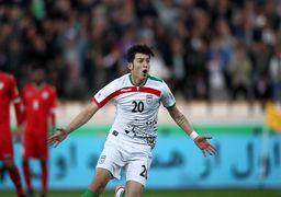 نگاه ویژه به مهاجم تیم ملی فوتبال ایران