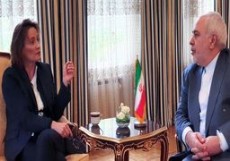 دیدار ظریف و قائممقام وزیر خارجه سوئیس