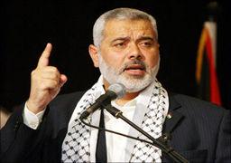 شلیک گاز اشک آور به رئیس حماس