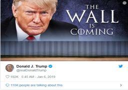 ترامپ: باید دیوار مرزی مکزیک را بسازیم!