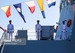 تصاویری از مراسم الحاق ناوشکن سهند به نیروی دریایی ارتش