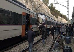 برخورد دو قطار در اسپانیا
