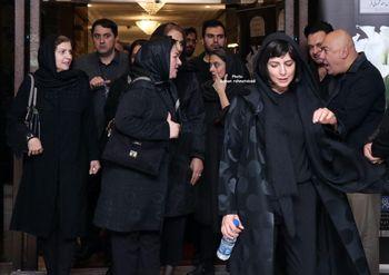 لیلا حاتمی در مراسم یادبود مظاهر مصفا+عکس