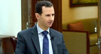 پیام بشار اسد به رهبری در پی شهادت سلیمانی