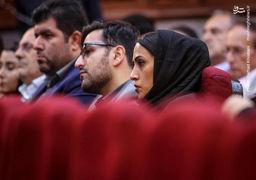تصاویر دختر و داماد «محمدعلی نجفی» در آخرین جلسه دادگاه