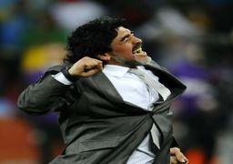 گلزنی بدل زنانه مارادونا ! +عکس