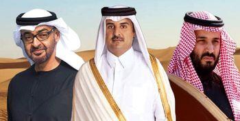 اختلاف امارات و عربستان بر سر حل بحران قطر